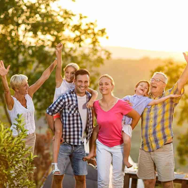 Arrow Health Happy Family